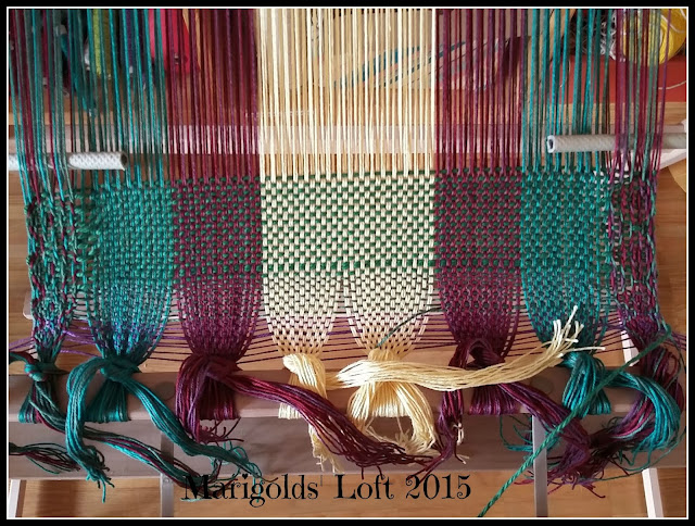 tablet weaving ashford rigid heddle