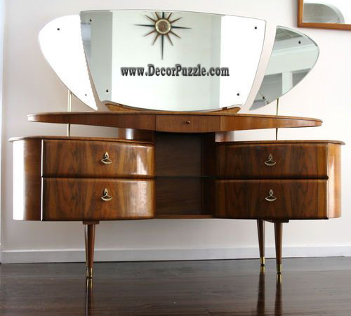 Latest modern dressing table designs with mirror for for Table moderne design