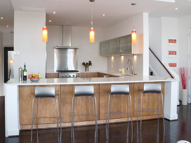 Indicaciones iluminaci n de la cocina ideas para - Disenar la cocina ...