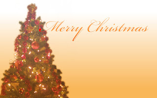 Free Download Greeting Christmas Tree Wallpaper
