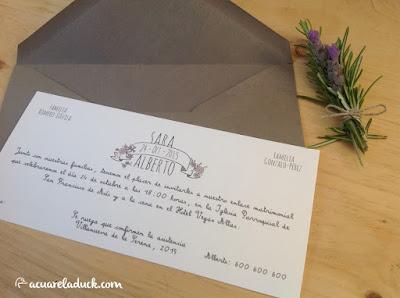 invitaciones gris y rosa