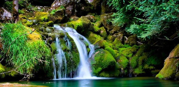 hd waterfall live wallpaper for android free download