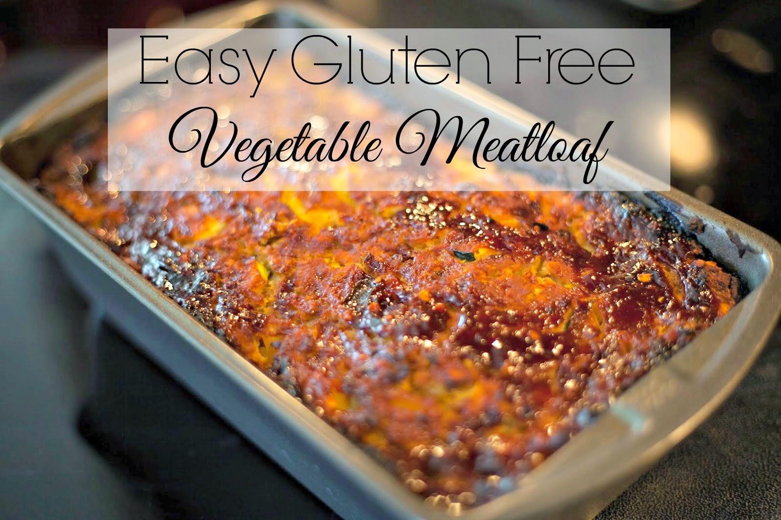 Easy Fluten Free Vegetable Meatloaf