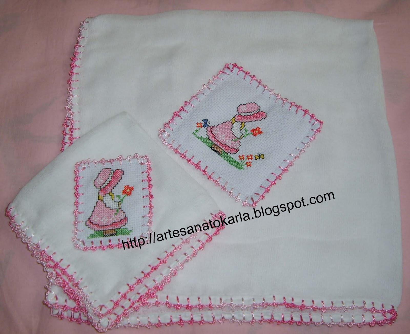 Fabuloso Crochetando com a Karla: Conjuntinho de fraldas DW44