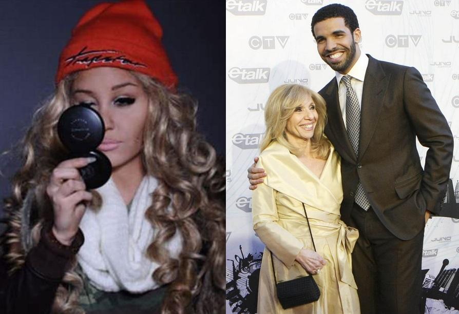 MY SPIZZOT: Amanda Byn... Drake And His Mom 2013