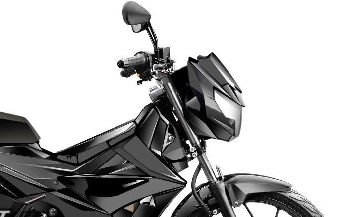 Inikah bentuk dari Suzuki Satria FU 150 Injeksi yang akan melawan balik Honda Sonic 150R ?