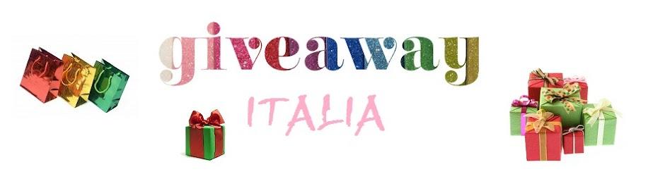 Giveaway Italia
