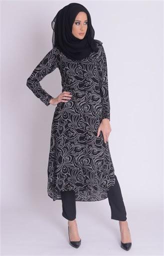 Trend Baju Muslim Pesta Simple Elegan Modern Terbaru 2017/2018