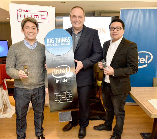 PLDT HOME launches game-changing TVolution Stick by Intel