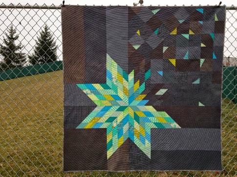 form*work: Deconstructed Lonestar - Blogger's Quilt Festival : lone star quilt instructions - Adamdwight.com