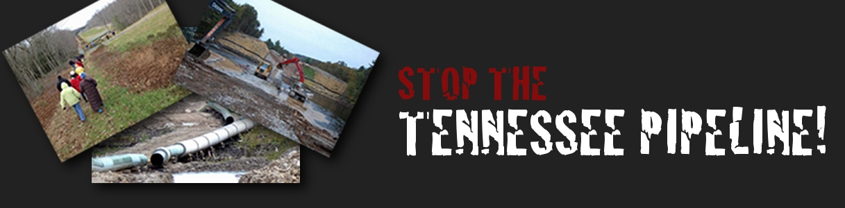 Stop The Tennessee Pipeline!