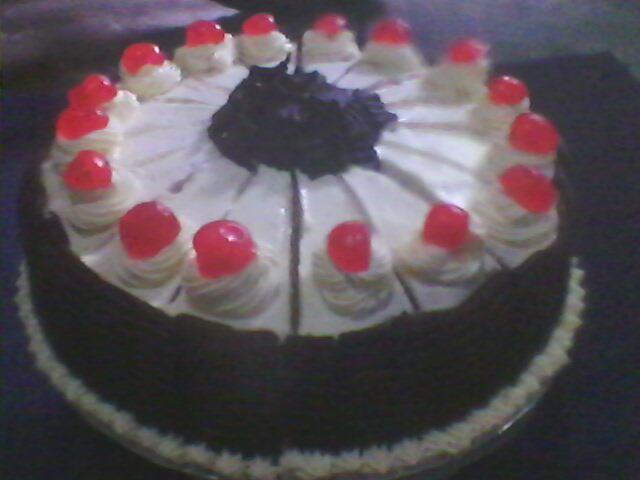 Kue Ulang tahun buat mbk Yanie