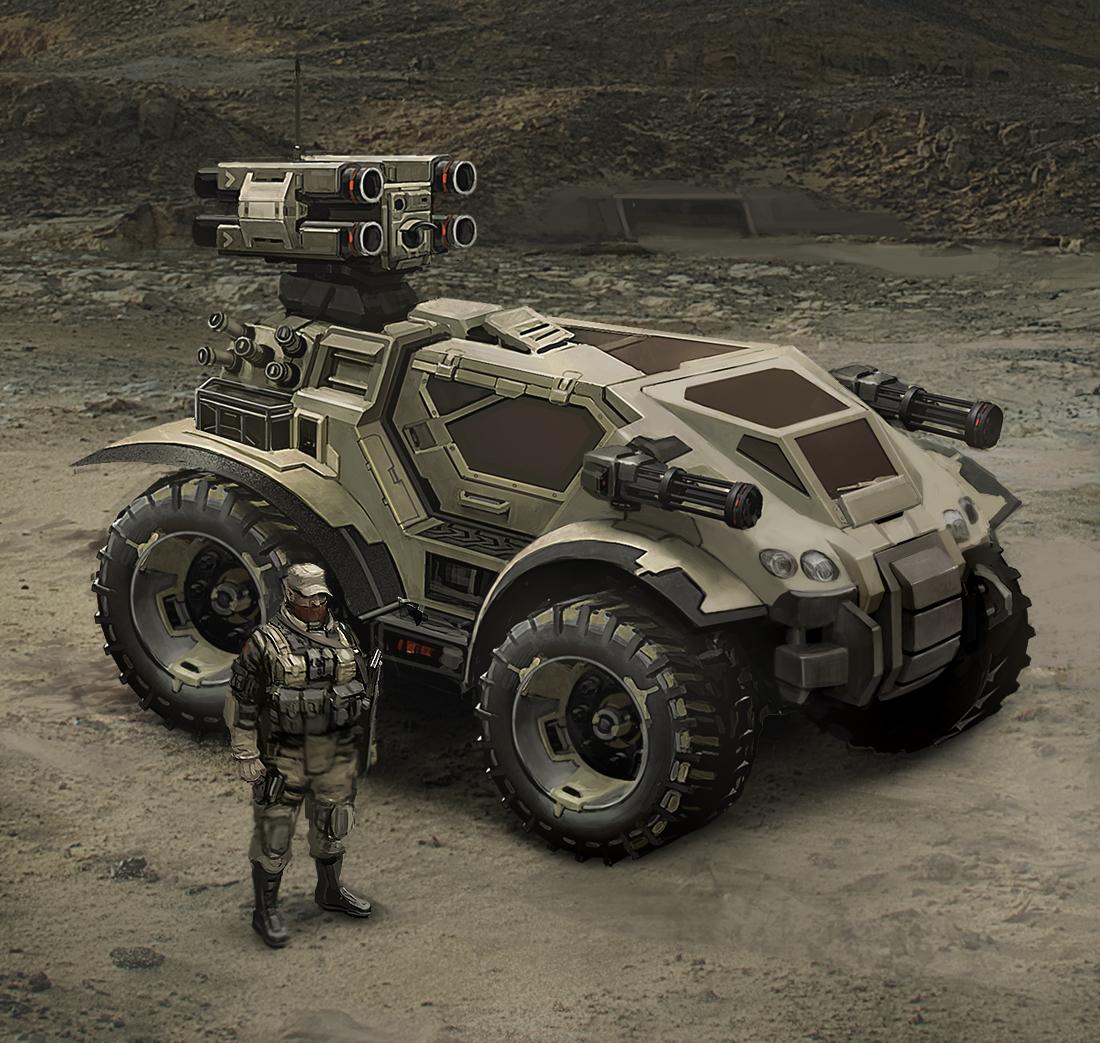 Sci Fi Military Vehicles