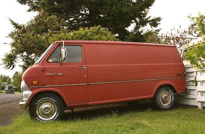 1969 Ford Econoline 200 van.