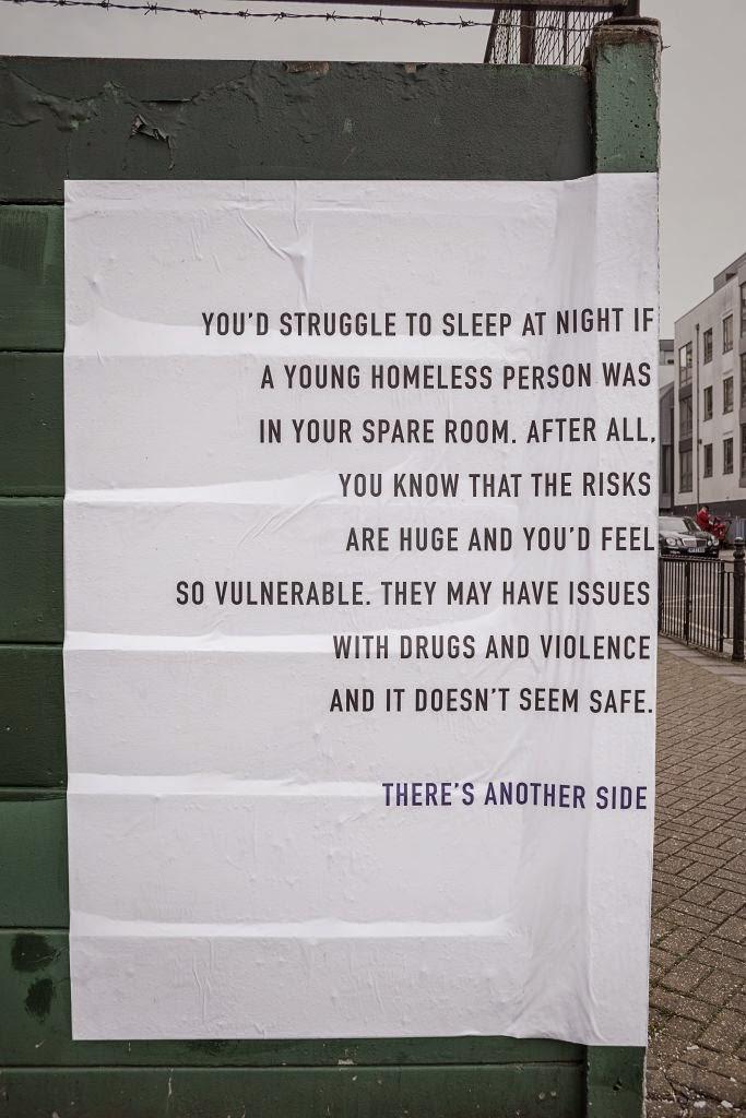 Depaul UK NightStop campaign poster 1