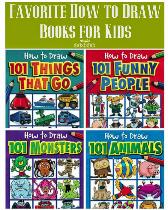 Favorite How to Draw Books for Kids @ Blissful Roots