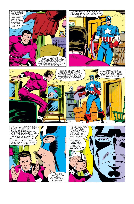 Captain America (1968) Issue #291 #207 - English 12