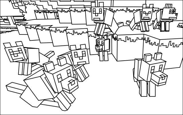 Minecraft Coloring Pages for Your Most Beloved Boy Baby  Minister