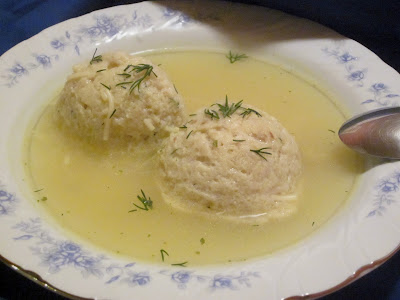The Fluffiest Matzo Balls!