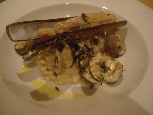 Kitchen Voyage: Clams and mushroom risotto