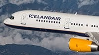 Icelandair to Reykjavik and onto USA and Canada