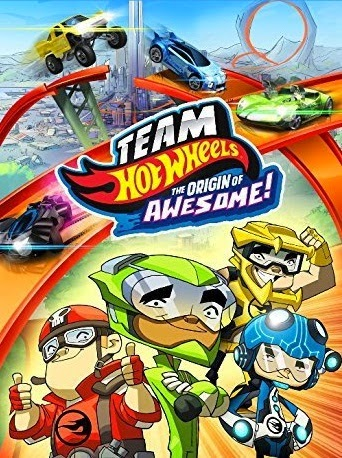 Team Hot Wheels: The Origin Of Awesome! (2014) BluRay 720p