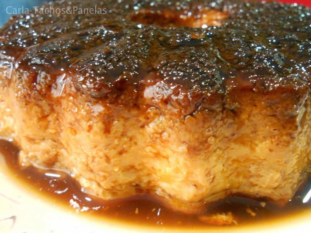 receita de pudim de pão com mel