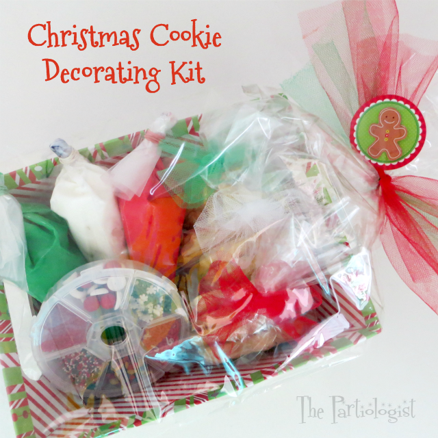 The Partiologist: Christmas Cookie Decorating Kit!