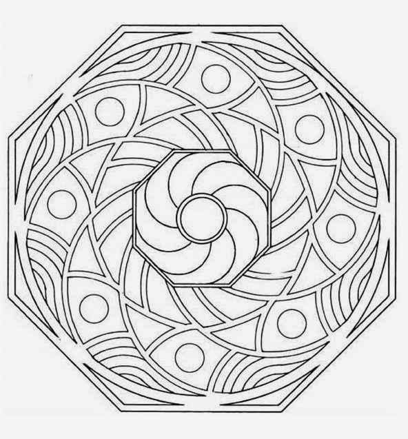 Advanced Coloring Pages Printable
