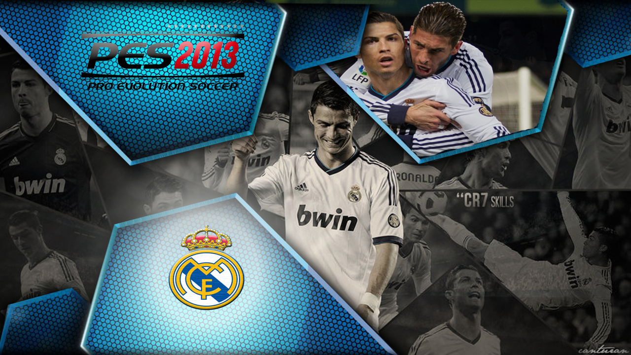 Start Screen CR7 and Ozil PES 2013 [NEW]