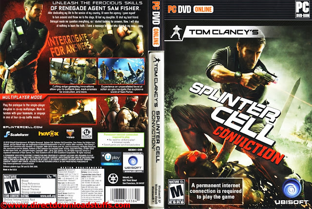Trainer for splinter cell double agent. Tom clancy s splinter cell convict