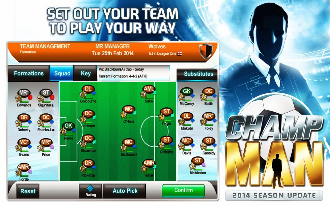 Champ Man free apk game