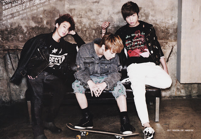 Chunji, L.Joe, and Changjo - Teen TOP Wallpapers