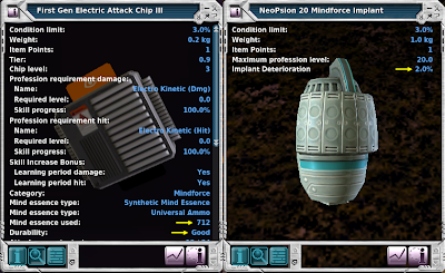 Entropia Universe - Mindforce Example