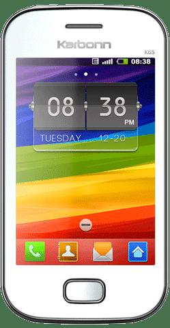 Karbonn K65 dual SIM mobile