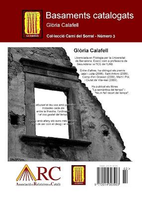 Basaments catalogats - coberta posterior (Glòria Calafell)