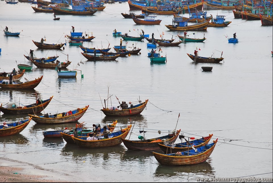 Fish village in Muine, Phan Thiet