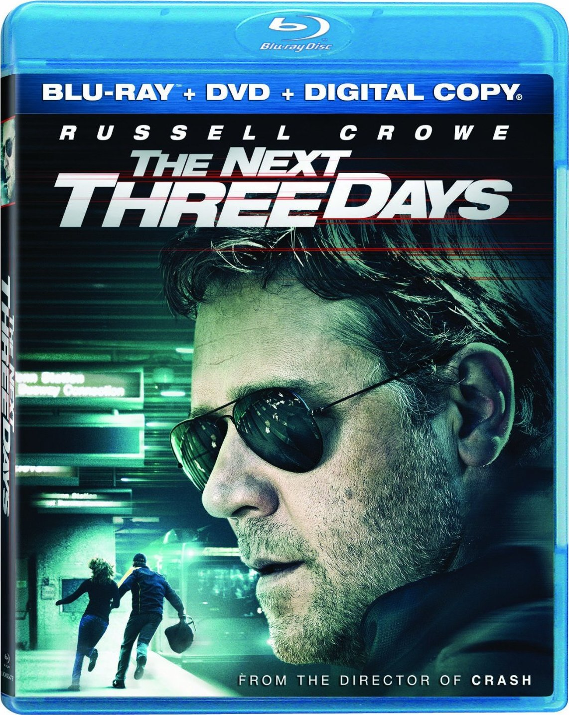 ... Went To Africa I Went To Perkins: The Next Three Days: Blu-ray (2010