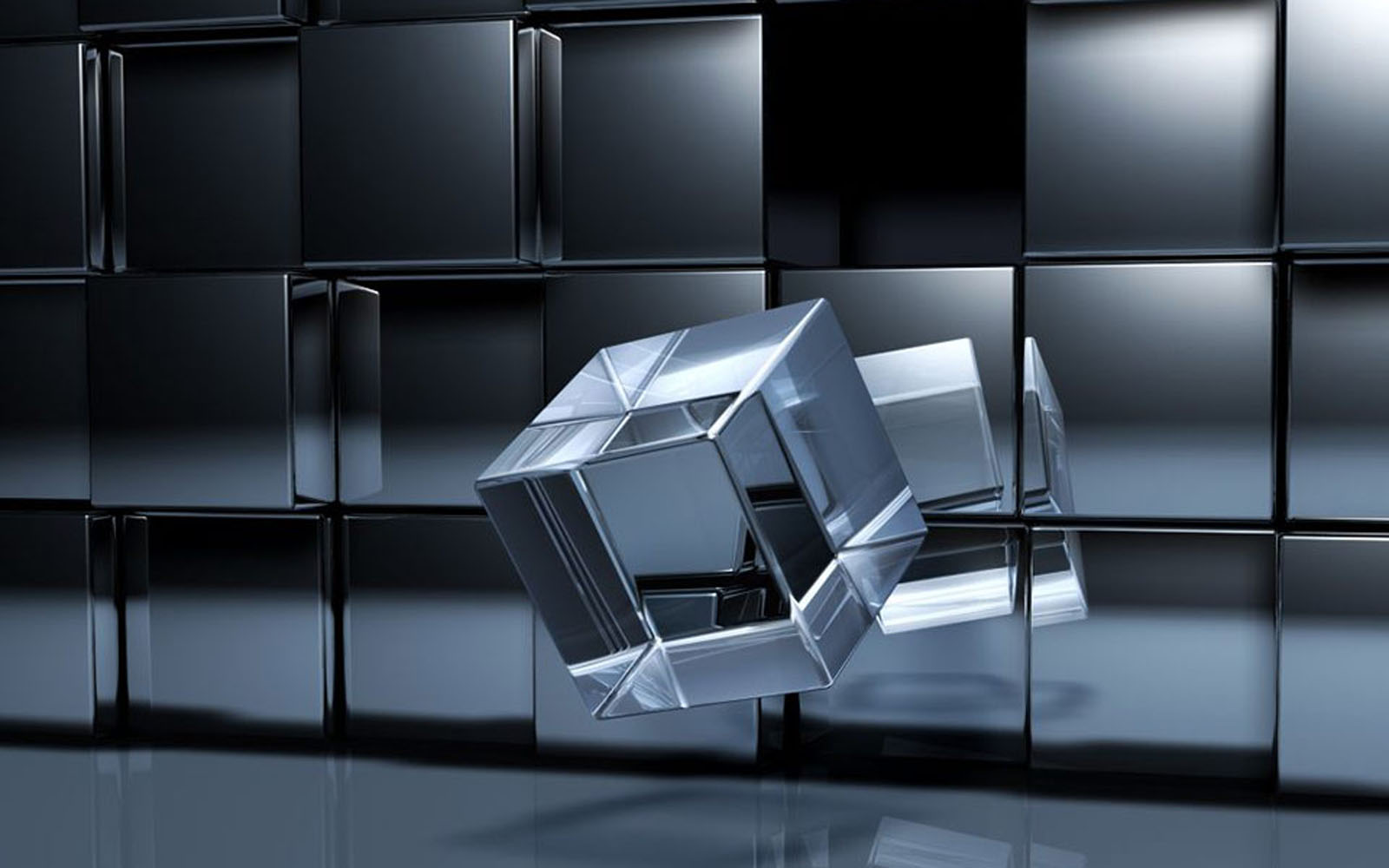 Wallpapers Crystal Cube Wallpapers
