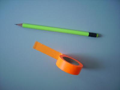 neon masking tape