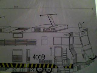 Trem - 2 (desenho)