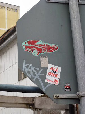 Sticker, Aufkleber, Streetart, Urbanart