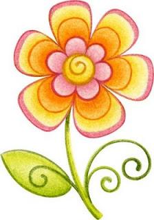 Flores de colores para imprimir | Imagenes para imprimir