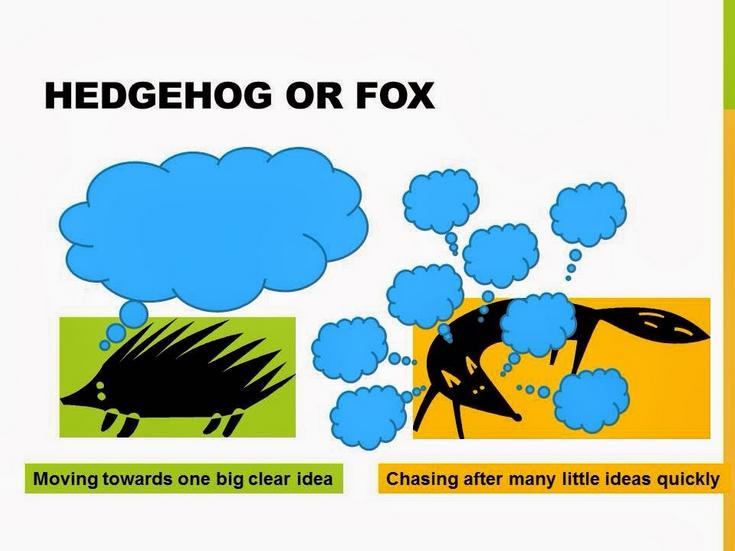 Isaiah berlin hedgehog and the fox essay