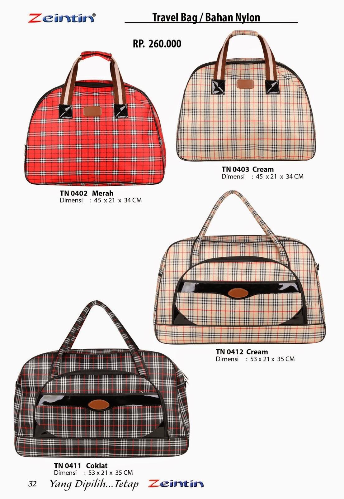 Travel Bag Zeintin Katalog Edisi Brilian 11