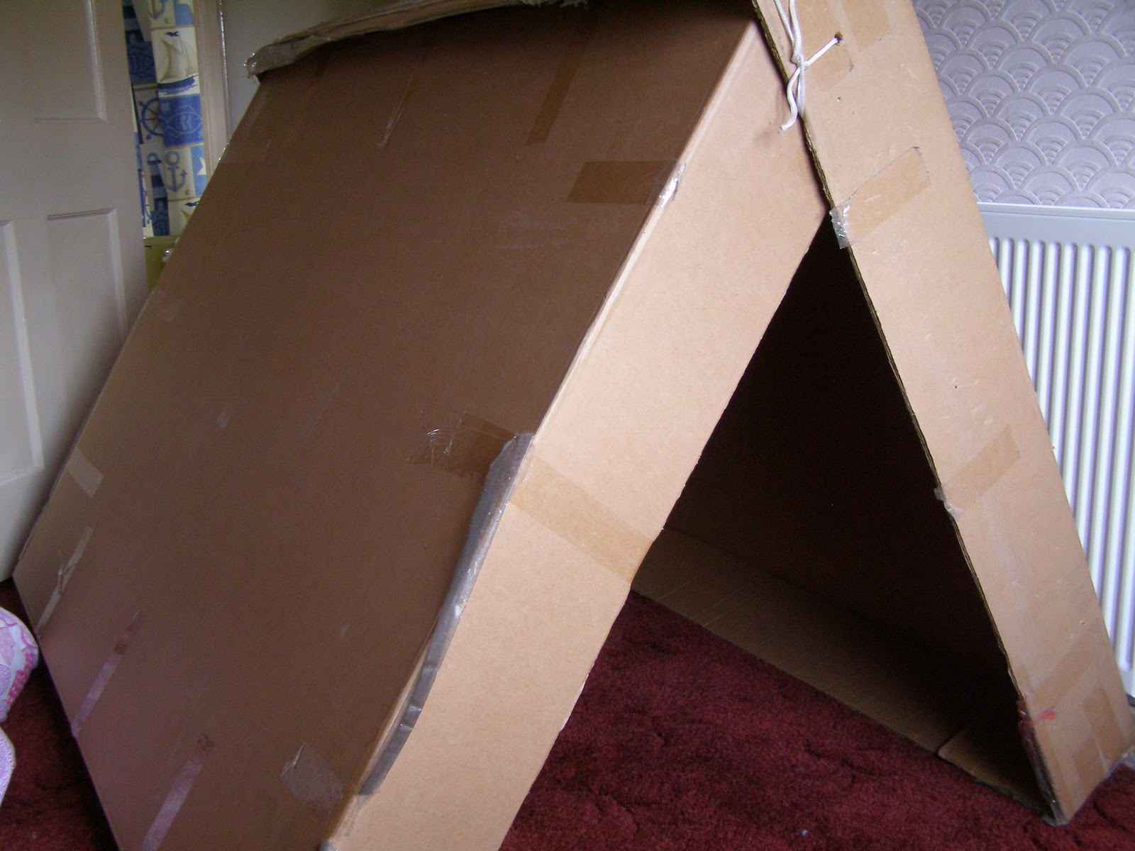 Creativity with Cardboard Boxes Tent and Indoor C&ing & Create with your hands: Creativity with Cardboard Boxes: Tent and ...