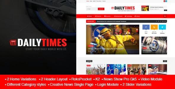 Best News and Magazine Joomla Template