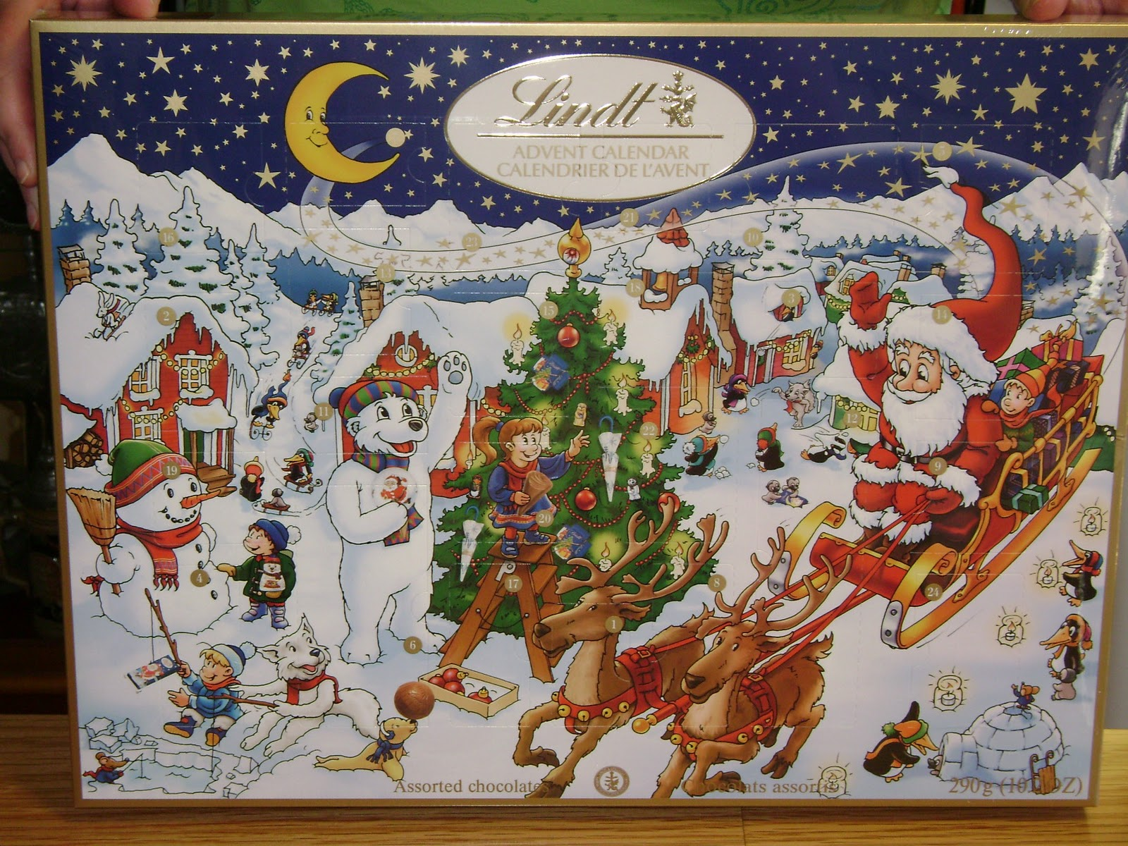 giant chocolate advent calendar active discount
