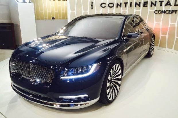 2017 Lincoln Continental Concept and Price