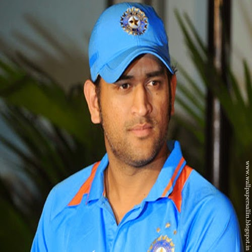 Mahendra Singh Dhoni -  Captain & wicketkeeper